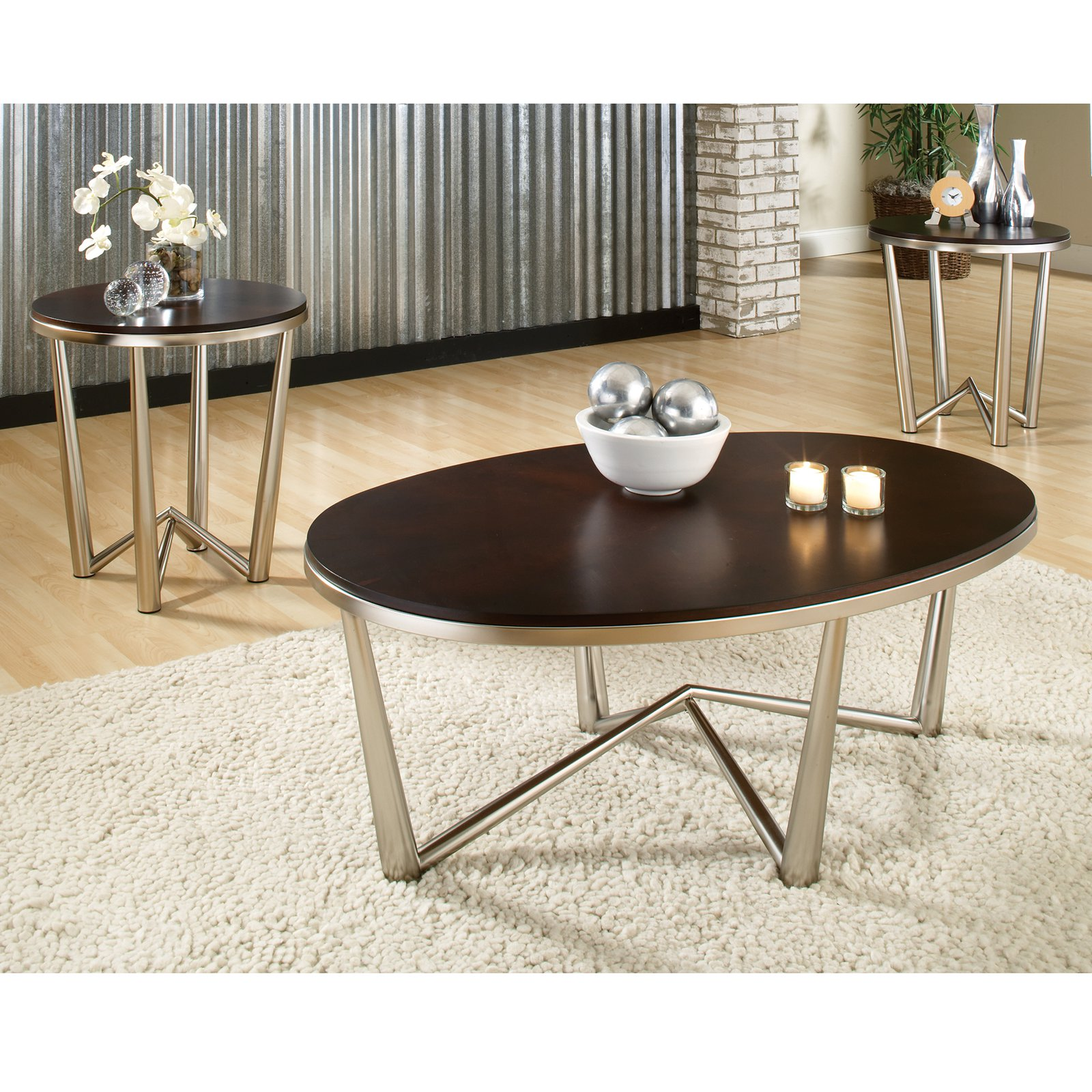 10 Best Ideas of Modern Round Coffee Table Sets