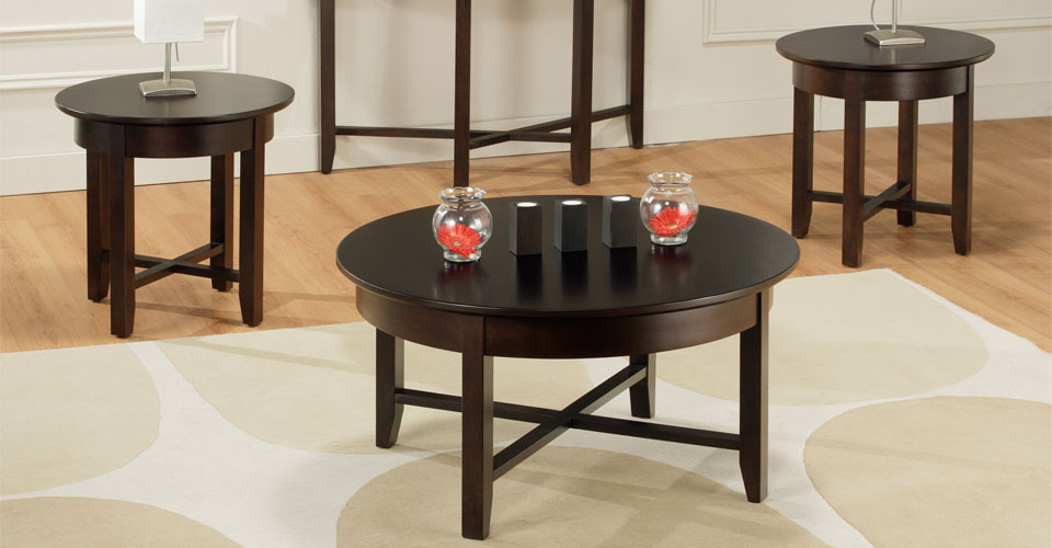 4 Set Table With Wood Furnish Square Shape Demilune Living Room Coffee  10 Best Collection of Sets Decor