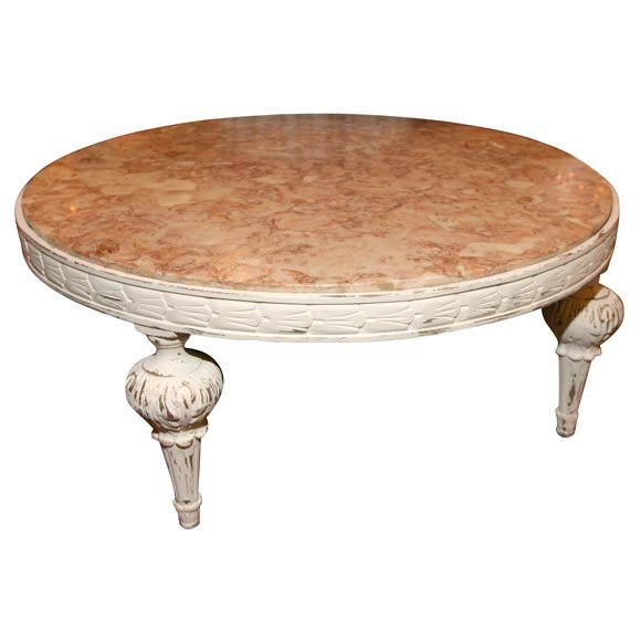 Popular Photo of Calvin 42 Round Coffee Table