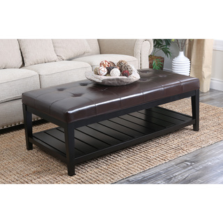 Featured Photo of Ottoman Coffee Table With Shelf