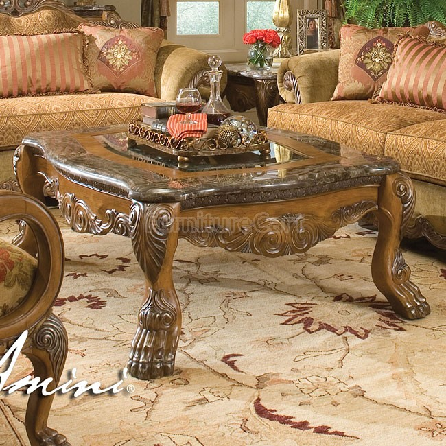 Aico-Coffee-Table-Sets-Eden-Jumbo-Rectangular-Cocktail-aico-coffee-table-circle-shape-wood-furnish-ideas-on-rug- (Image 5 of 10)