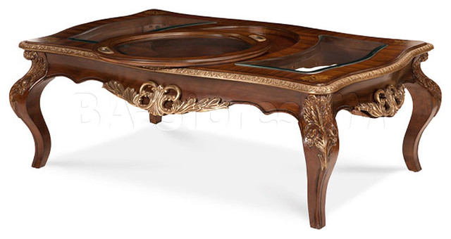 Aico-Coffee-Table-Sets-Imperial-Court-Radiant-Chestnut-Rectangular-Cocktail-Table-wood-furnish-AICO-traditional-coffee-tables (Image 6 of 10)