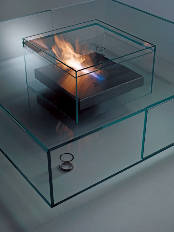 All Glass Coffee Table Handmade Contemporary Furniture Coffee Table Becomes The Supporting Furniture That Will Make Your Room Greater (Image 4 of 10)