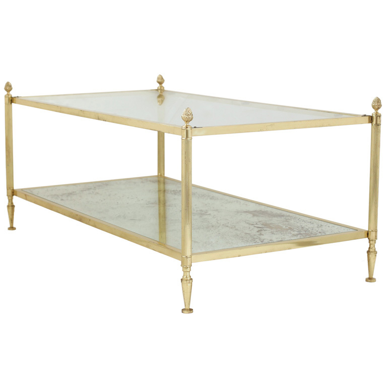 Antique Brass And Glass Coffee Table I Simply Wont Ever Be Able To Look At It In The Same Way Again (Image 4 of 10)