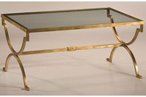 Antique Brass And Glass Coffee Table Too Much Brown Furniture A National Epidemic (Image 8 of 10)
