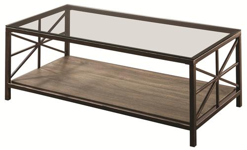 Featured Photo of Rustic Glass Coffee Table Furniture
