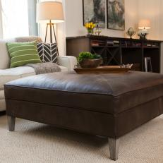 BP HELBR310H Jordan Barn Conversion Great Room Modern Wood Coffee Table Reclaimed Metal Mid Century Round Natural Diy Padded Large Leather Storage O (Image 3 of 10)