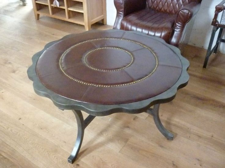 Beautiful Vintage Rustic Round Deluxe Free Ideas Coffee Table Made With Solid Reclaim Wood (View 4 of 10)