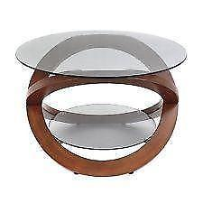 Beautiful Vintage Rustic Round Modern With Glass Coffee Table Made With Solid Reclaim Wood (View 6 of 10)