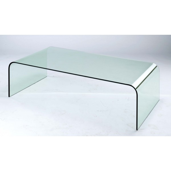 Bent Glass Coffee Table Complete Your Lounge Room With The Perfect Coffee Table. The Saturn Glass Coffee Table Complements Both The Classic And Modern Look (Image 4 of 9)