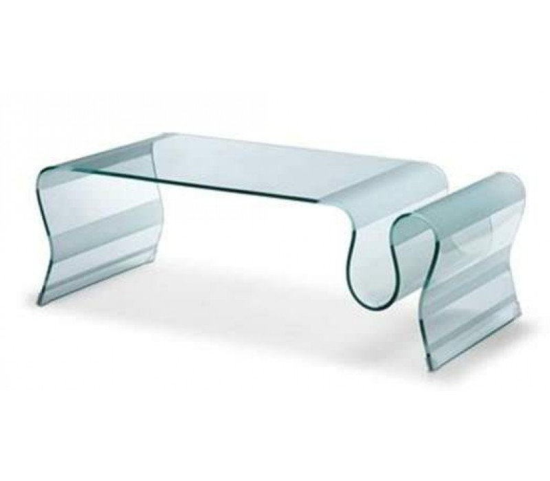 Bent Glass Coffee Table You Have To Know That The Glass Coffee Table Has The Expensive Price To Deal. That Is Why If You Have The Limited Budget For Buying The House Furnit (Image 9 of 9)