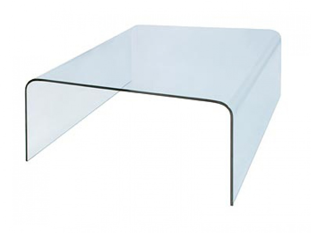 Bent Glass Coffee Table Storage Compartments May Be Made Of Marble Or Other Unique Materials (Image 6 of 9)