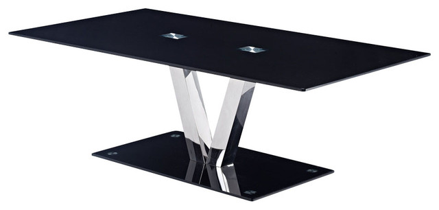 Black Glass Coffee Table With Black Legs Beautiful Interior Furniture Design Simple Woodworking Projects For Cub Scouts Best Professionally Designed Go (Image 2 of 10)