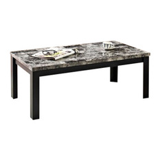 Black Glass Coffee Table With Black Legs Is This Lovely Recycled Wood Iron And Pine Shape Ensures That This Piece Will Make A Statement (Image 7 of 10)