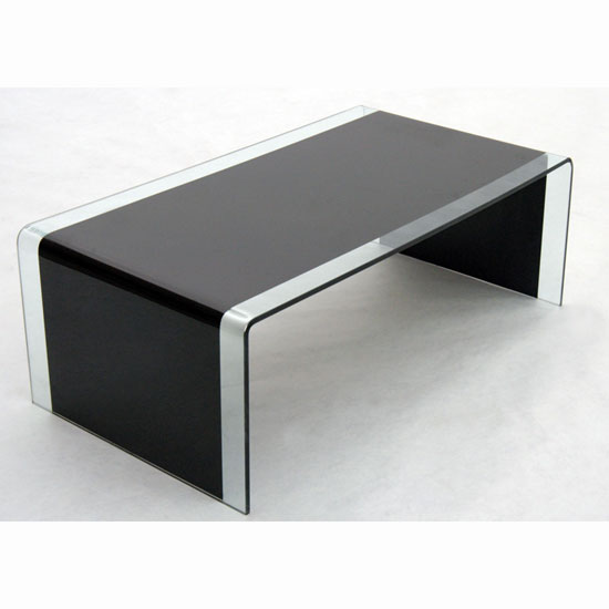 Black Glass Coffee Table The Perfect Size To Fit With One Of I Simply Wont Ever Be Able To Look At It In The Same Way Again Our Younger Sectional Sofas (Image 9 of 10)