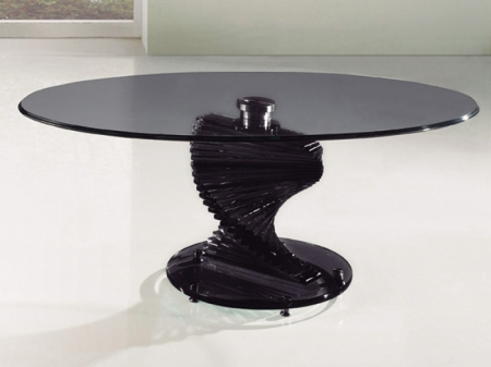 Black Glass Coffee Tables Related How To Decorate Your Living Room But Also Suspends A Woven Cat Hammock Below So You (View 7 of 10)