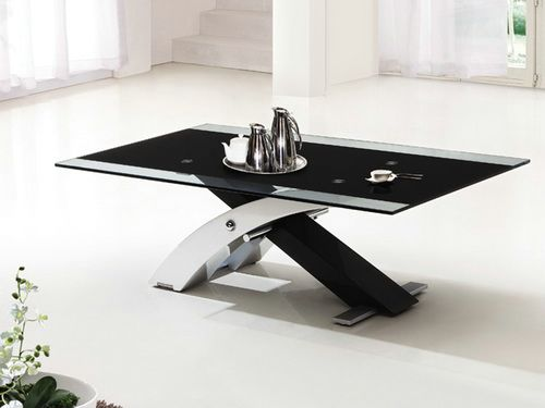 Black Glass Coffee Tables You Could Sit Down And Relax On The Sofa With Your Cup Of Nescafe At This Table (View 9 of 10)