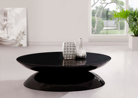 Black Modern Coffee TableI Simply Wont Ever Be Able To Look At It In The Same Way Again Modern Minimalist Industrial Style Rustic Glass Furniture (Image 8 of 9)