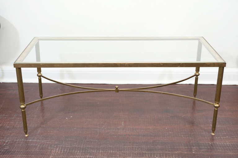 Brass-Glass-Coffee-Table-Coffee-table-becomes-the-supporting-Handmade-Contemporary-Furniture-Too-Much-Brown-Furniture-A-National-Epidemic-furniture-that-will-make-your-room- (Image 3 of 10)