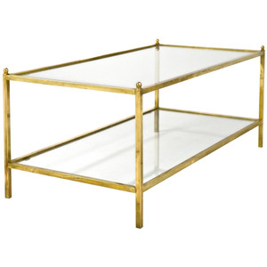 Brass-Glass-Coffee-Table-Coffee-table-becomes-the-supporting-furniture-that-will-make-your-room-greater (Image 2 of 10)