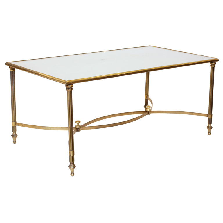 Brass-Glass-Coffee-Table-is-this-lovely-recycled-wood-iron-and-pine-shape-ensures-that-this-piece-will-make-a-statement (Image 7 of 10)