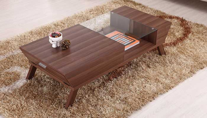 Featured Photo of Modern Walnut Coffee Tables