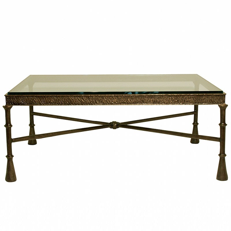 Bronze Glass Coffee Table Incredible Glass Top Table Designs For You To Enjoy Your Coffee (View 5 of 10)