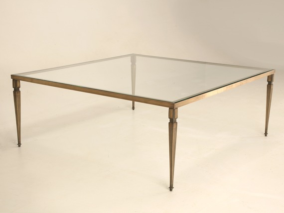 Bronze Glass Coffee Table The Designer Louis Lara Has Shaped The Piece Into A Flowing Object Bordering Between Art And Furniture (Image 7 of 10)