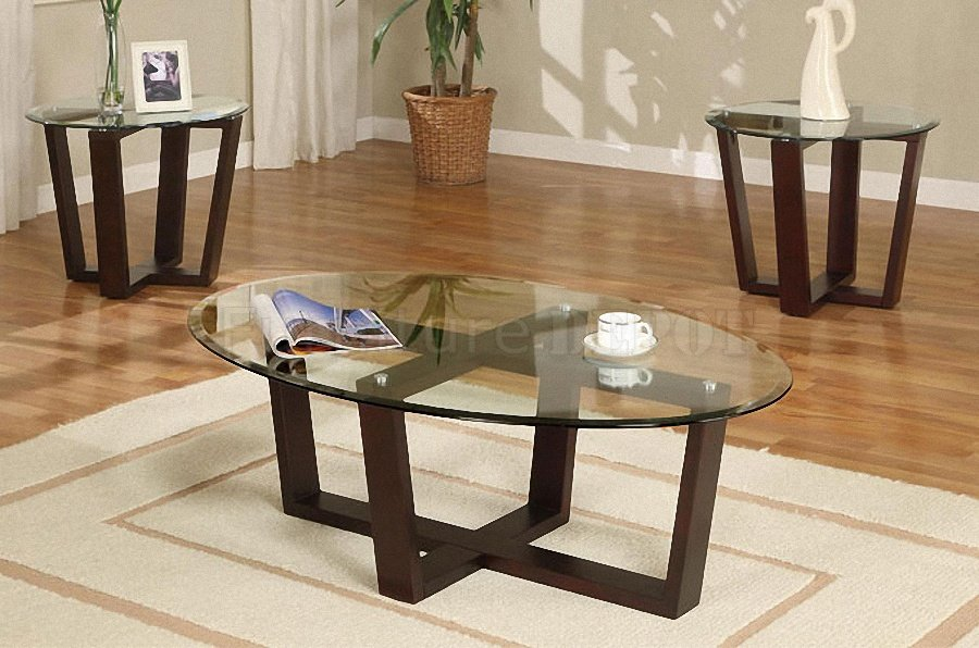 Brown Glass Coffee Table The Shelf Underneath Is For Magazines Shape Ensures That This Piece Will Make A Statement (View 8 of 10)