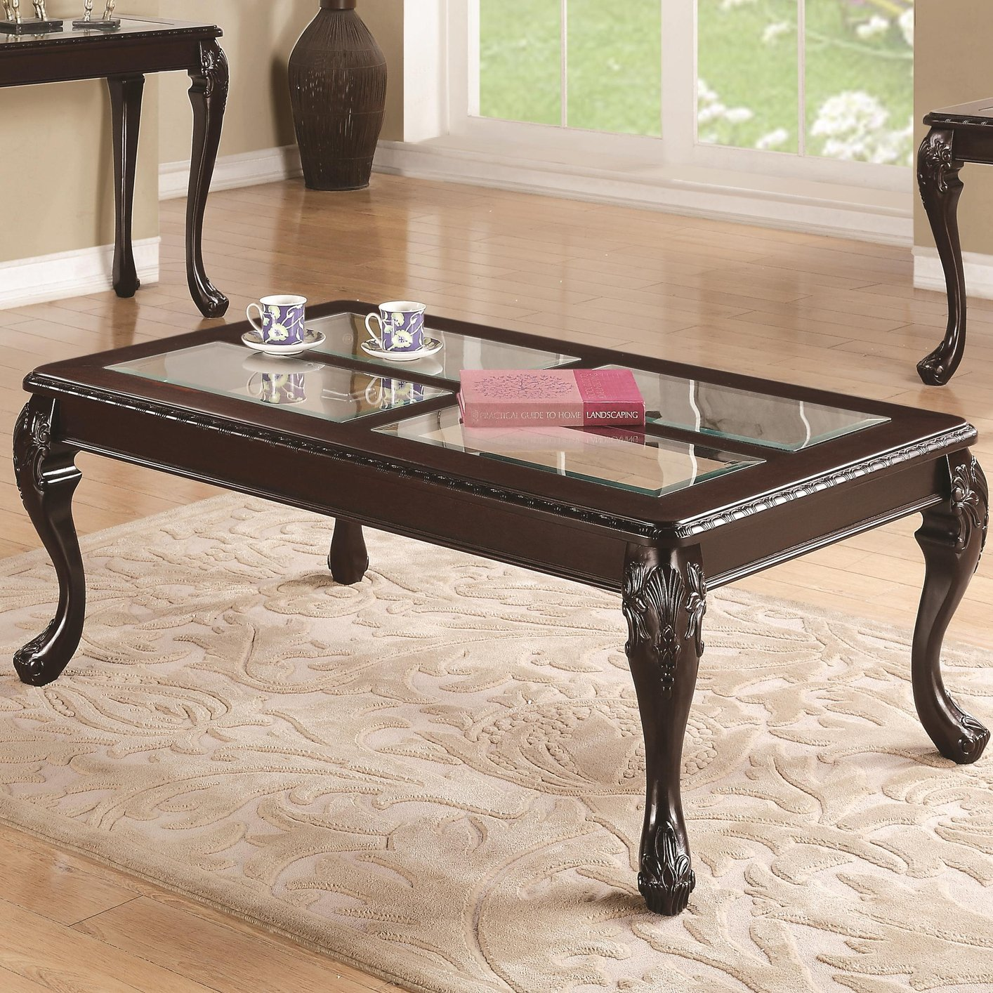 Brown Glass Coffee Table Too Much Brown Furniture A National Epidemic Handmade Contemporary Furniture (Image 10 of 10)