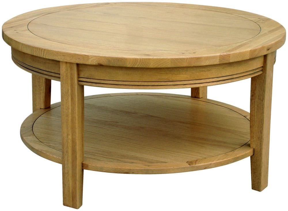 Featured Photo of Round Oak Coffee Tables  Decoration