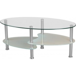 Cheap Glass Coffee Tables Complete Your Lounge Room With The Perfect Coffee Table. The Saturn Glass Coffee Table Complements Both The Classic And Modern Look (Image 4 of 9)