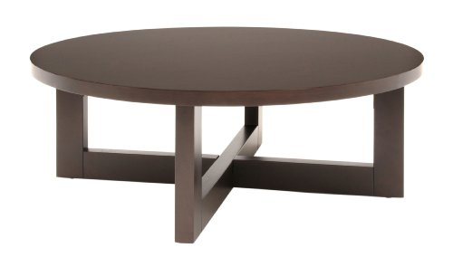 Cheap Round Coffee Table Black Color Wood Ideas Furnish Finishing (Image 3 of 9)