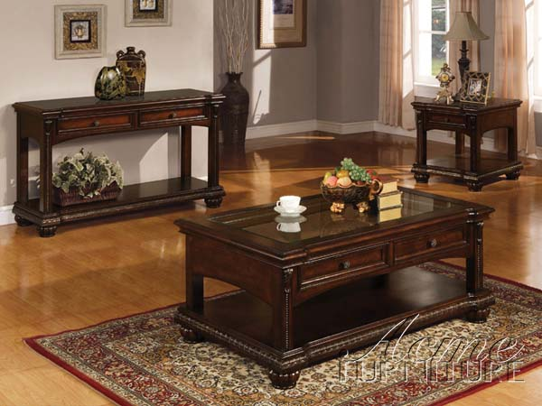 Cherry-Wood-Coffee-Table-Set-on-living-room-free-download-3-set-Coffee-Table-Sets (Image 3 of 9)