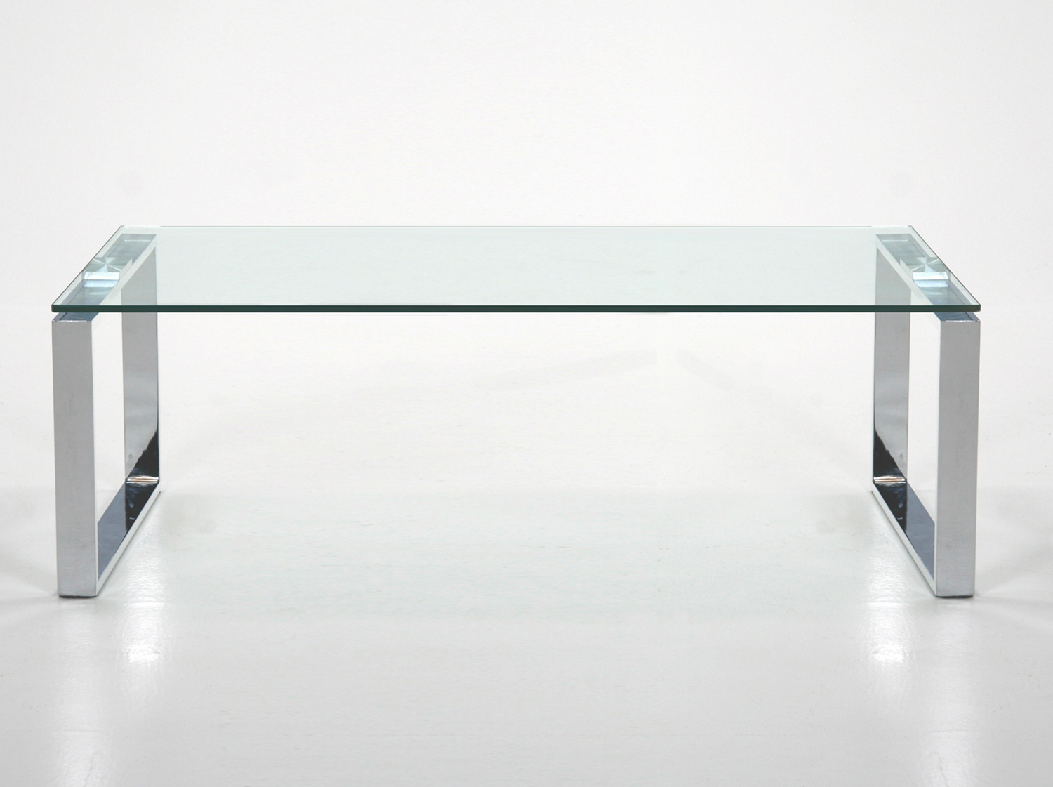 Chrome Glass Coffee Table Is Both Practical And Stylish (View 5 of 10)