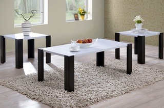 Coffee-And-Side-Table-Set-3-Pc-Coffee-Table-and-Side-Table-Set (Image 4 of 10)