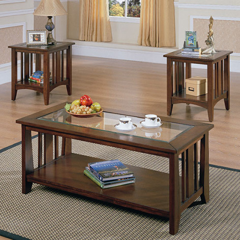 Coffee-And-Side-Table-Set-Coffee-Tables-End-Tables-Sofa (Image 6 of 10)