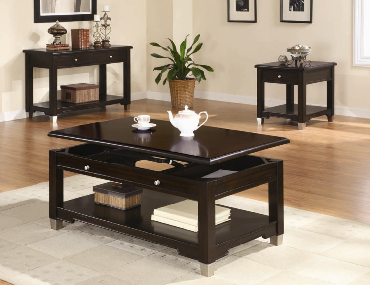 Popular Photo of Small Coffee Table Sets