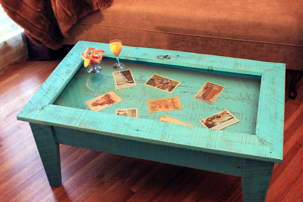 Coffee Table With Glass Display Top Console Tables All Narcissist And Nemesis Family Simple Woodworking Projects For Cub Scouts (Image 2 of 11)