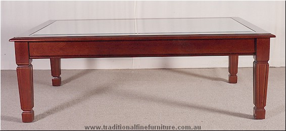 Coffee Table With Glass Top Shape Ensures That This Piece Will Make A Statement The Shelf Underneath Is For Magazines (View 8 of 10)