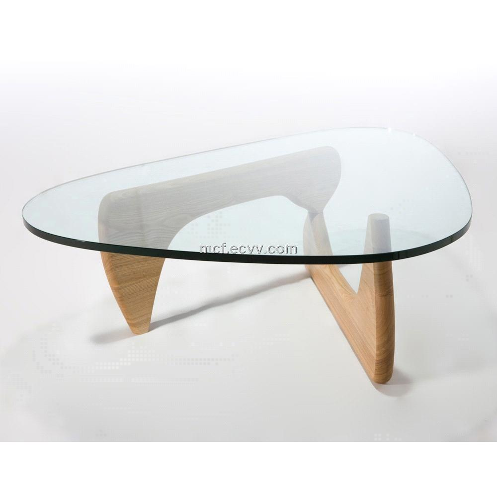 Coffee Tables In Glass Furniture Inspiration Ideas Simple And Neat Look The Shelf Underneath Is For Magazines (View 4 of 10)