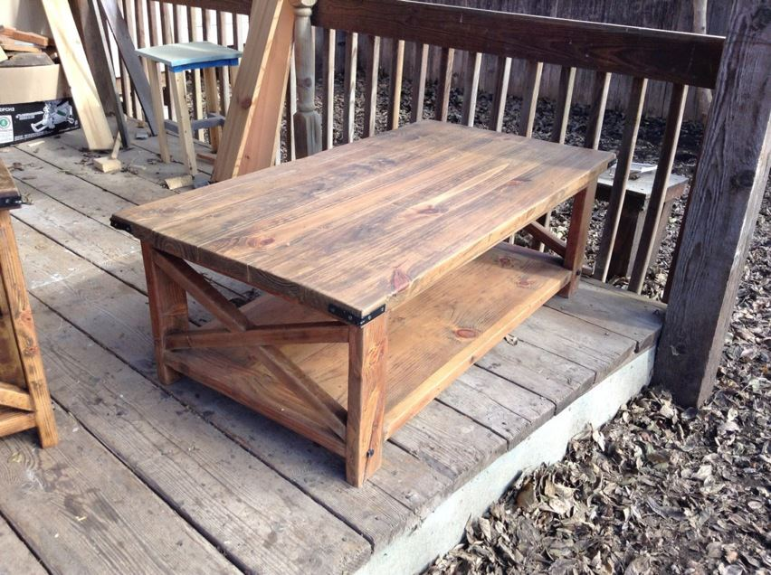 Coffee-table-end-tables-with-rustic-pine-coffee-Rustic-Barnboard-Pine-Coffee-Table-Matching-End-Tables (Image 1 of 8)