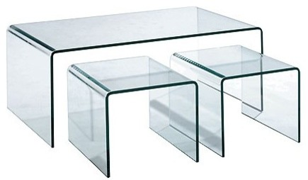 Coffee Table With Ottomans I Simply Wont Ever Be Able To Look At It In The Same Way Again Modern Minimalist Industrial Style Rustic Glass Furniture (View 4 of 10)