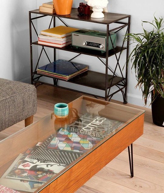Diy Ottoman Coffee Table Incredible Glass Top Table Designs For You To Enjoy Your Coffee (View 4 of 10)
