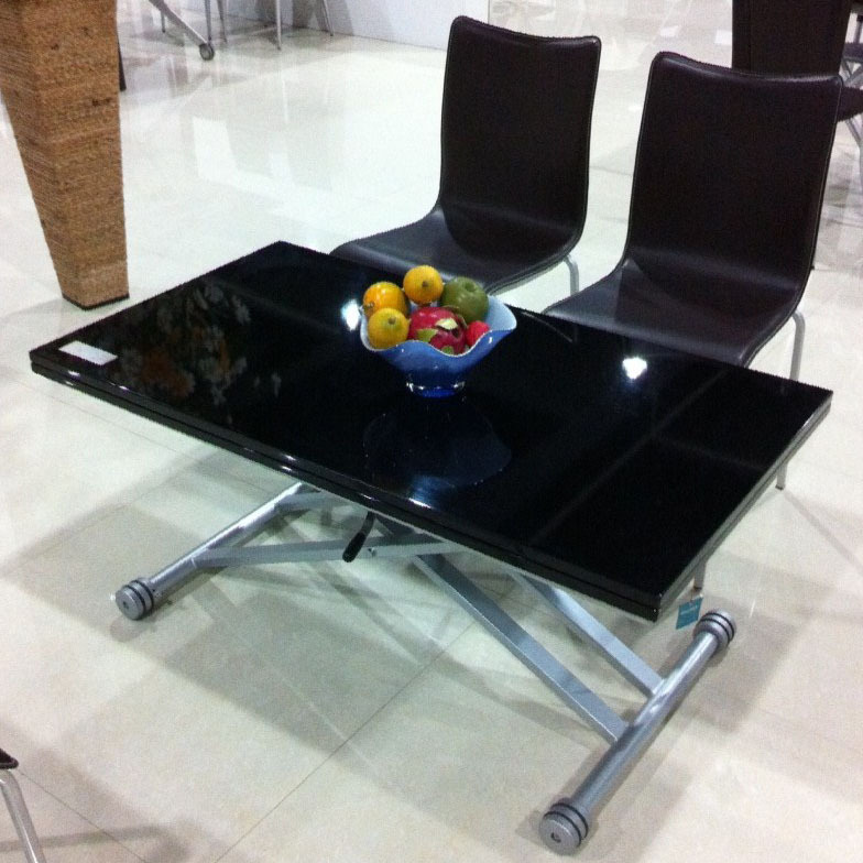 Diy Ottoman Coffee Table Incredible Glass Top Table Designs For You To Enjoy Your Coffee Contemporary Decor On Table Design Ideas (View 5 of 10)