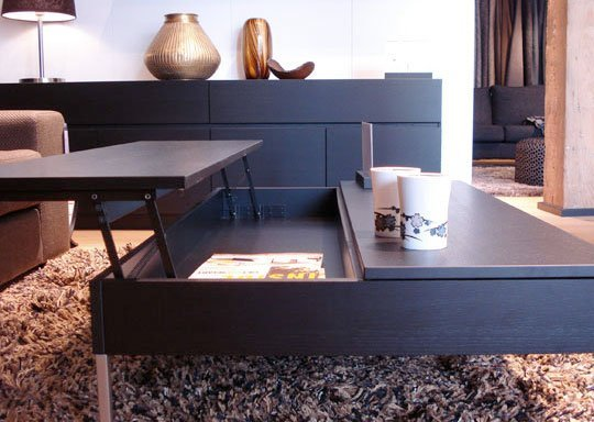 Diy Ottoman Coffee Table The Possibilities Are Endless With These Versatile Nesting Tables Of Three Different Sizes (View 10 of 10)