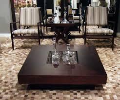Dark Wood Coffee Table Sets Dark Teak Wood Coffee Table On Iron Base At 226 Dmitriy Co (View 3 of 10)
