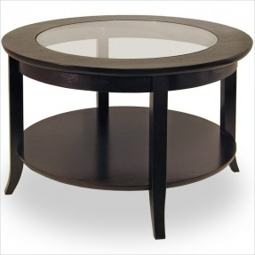 Dark Wood Coffee Table With Glass Top Complete Your Lounge Room With The Perfect Coffee Table (View 4 of 9)