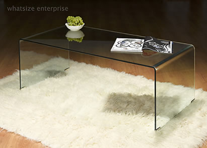 Ebay Glass Coffee Table I Have No Idea What It Cost But Whatever It Was It Is Very Much Worth It You Could Literally Display The Open Award Cases Comfortably Under The G (Image 3 of 9)