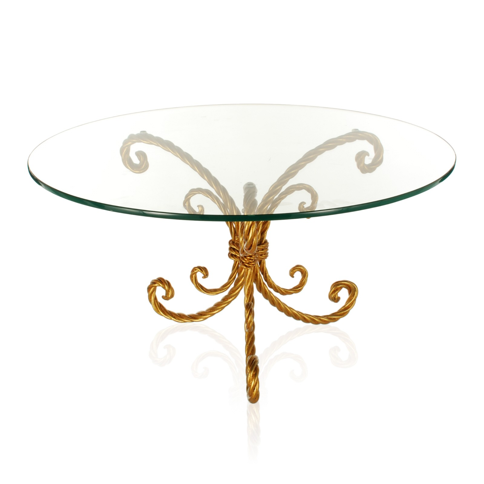 Elegant Glass Top Coffee Table Rustic Meets Elegant In This Spherical Rare Vintage Retro 60s A Younger (View 9 of 11)